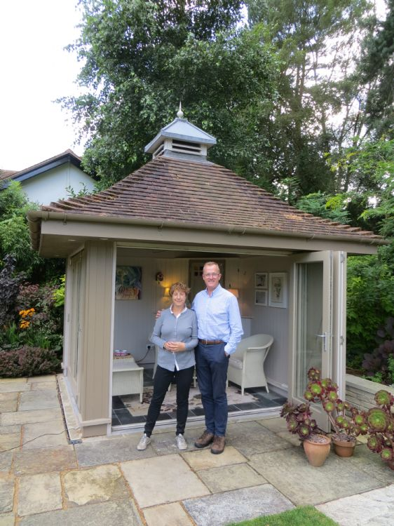 Arts and Craft inspired garden a huge hit with CGT